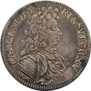 ⅔ Thaler - Karl XI. – avers