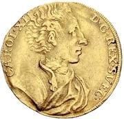 1 Ducat - Karl XII. – avers