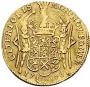 1 Ducat - Karl XII. – revers