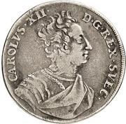 ⅔ Thaler - Karl XII. – avers