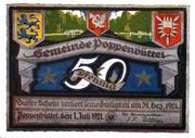50 Pfennig (Poppenbüttel) – avers