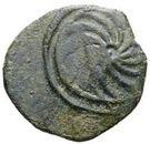 2½ centesimae (série incuse: spirale) – revers