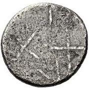AR 20 asses (série Gorgonéion II: lignes croisées) -  avers