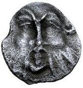 AR 1 as (série Silenus: visage détaillé) – avers