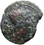 1 sextans (alliance de Populonia et Vetulonia) – avers