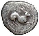 1 drachm (série bête: hare) – avers