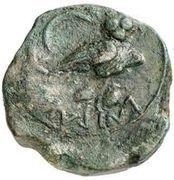 1 sextans (série Menrva II) – revers