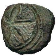 2½ centesimae (série incuse: étoile) – revers