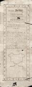 3 Pesos (Decrees of 3.9.1811 and 29.6.1813) – avers