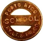 Porto Rico  RY. LT. & PR. CO. – avers