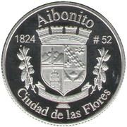 1 Peseta (Aibonito) – revers