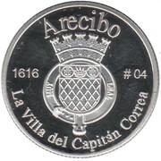 1 Peseta (Arecibo) – revers