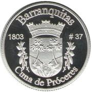 1 Peseta (Barranquitas) – revers