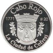 1 Peseta (Cabo Rojo) – revers