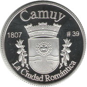 1 Peseta (Camuy) – revers