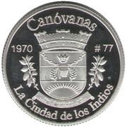 1 Peseta (Canóvanas) – revers