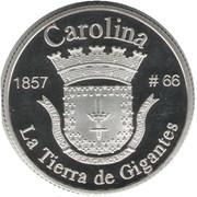 1 Peseta (Carolina) – revers