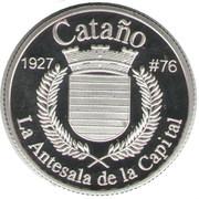 1 Peseta (Cataño) – revers