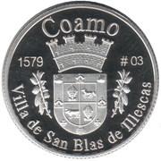1 Peseta (Coamo) – revers