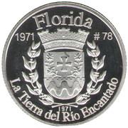 1 Peseta (Florida) – revers