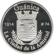 1 Peseta (Guánica) – revers