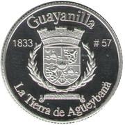 1 Peseta (Guayanilla) – revers
