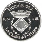 1 Peseta (Hormigueros) – revers