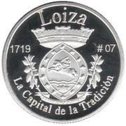 1 Peseta (Loiza) – revers