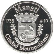 1 Peseta (Manatí) – revers