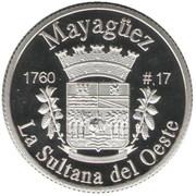 1 Peseta (Mayagüez) – revers