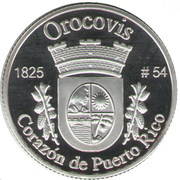 1 Peseta (Orocovis) – revers