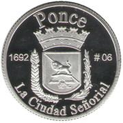 1 Peseta (Ponce) – revers