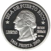 1 Peseta (Rincón) – avers