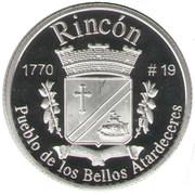 1 Peseta (Rincón) – revers