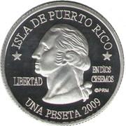 1 Peseta (Rio Grande) – avers
