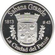 1 Peseta (Sabana Grande) – revers