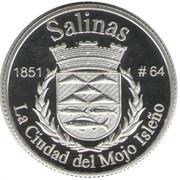 1 Peseta (Salinas) – revers