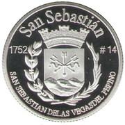 1 Peseta (San Sebastián) – revers