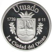 1 Peseta (Utuado) – revers