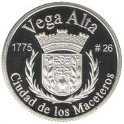 1 Peseta (Vega Alta) – revers