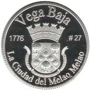 1 Peseta (Vega Baja) – revers