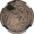 ¼ Dollar (Contremarque) – revers