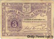 3 Centavos (Azambuja) – avers