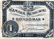 1 Centavo (Gondomar) – avers