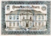 4 Centavos (Penafiel) – avers