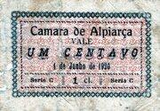 1 Centavo (Alpiarca) – avers