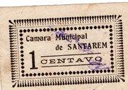 1 Centavo (Santarem) – avers