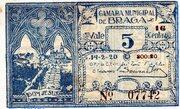 5 Centavos (Braga) – avers
