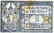 5 Centavos (Braga) – revers