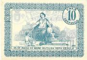10 Centavos Arcos de Valdevez – revers